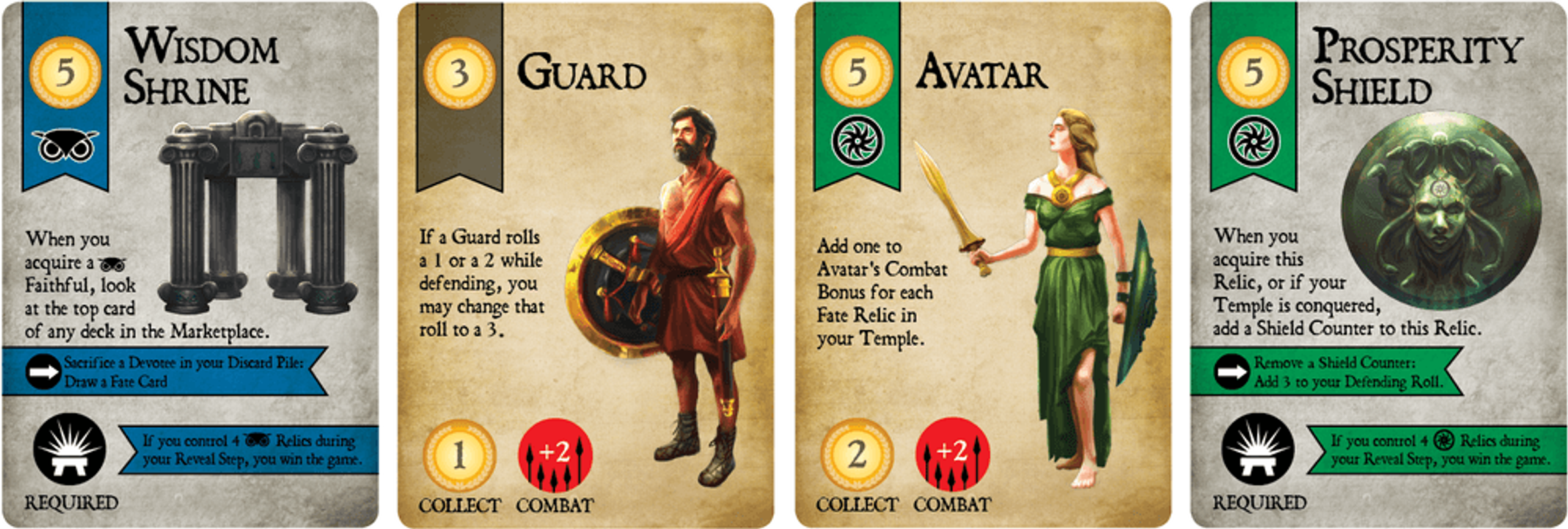 Foretold: Rise of a God cards