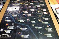 Star Wars Armada: Rebellion in the Rim game board