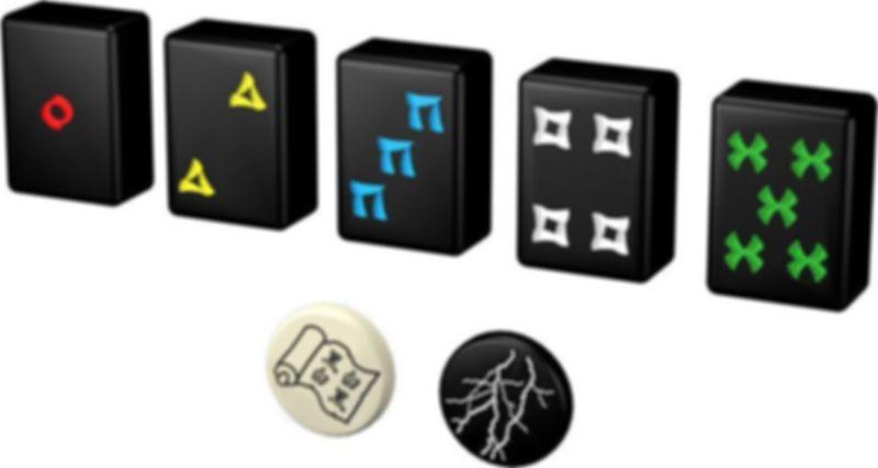 Hanabi components