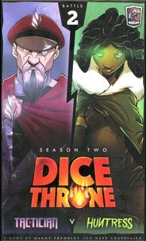 Dice+Throne%3A+Season+Two+-+Tactician+v.+Huntress