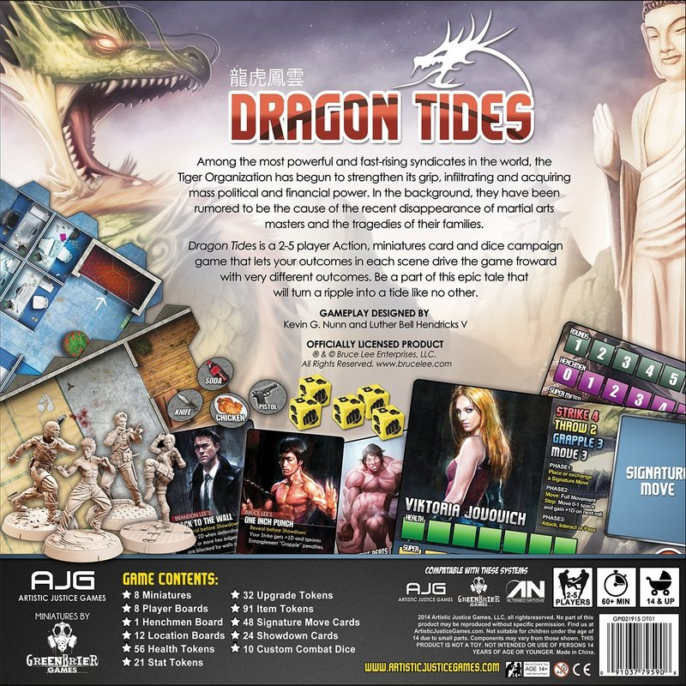 Dragon Tides back of the box