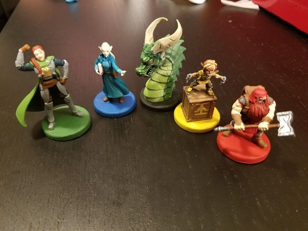 Clank! Legacy: Acquisitions Incorporated miniatures