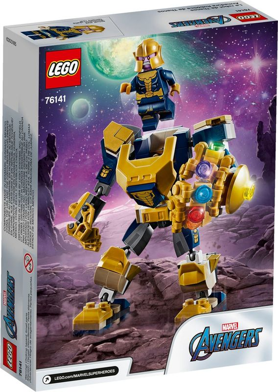 Thanos Mech back of the box