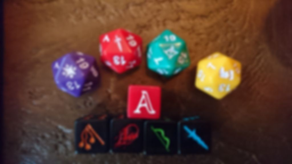 Aventuria: Arsenal of Heroes dice