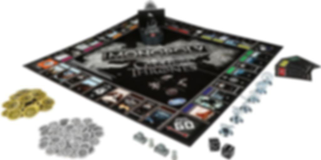Monopoly: Game of Thrones components