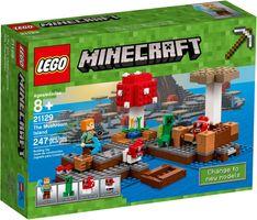 LEGO® Minecraft The Mushroom Island