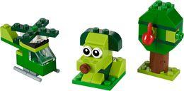 Creative Green Bricks components
