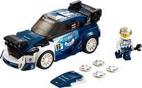 LEGO® Speed Champions Ford Fiesta M-Sport WRC components