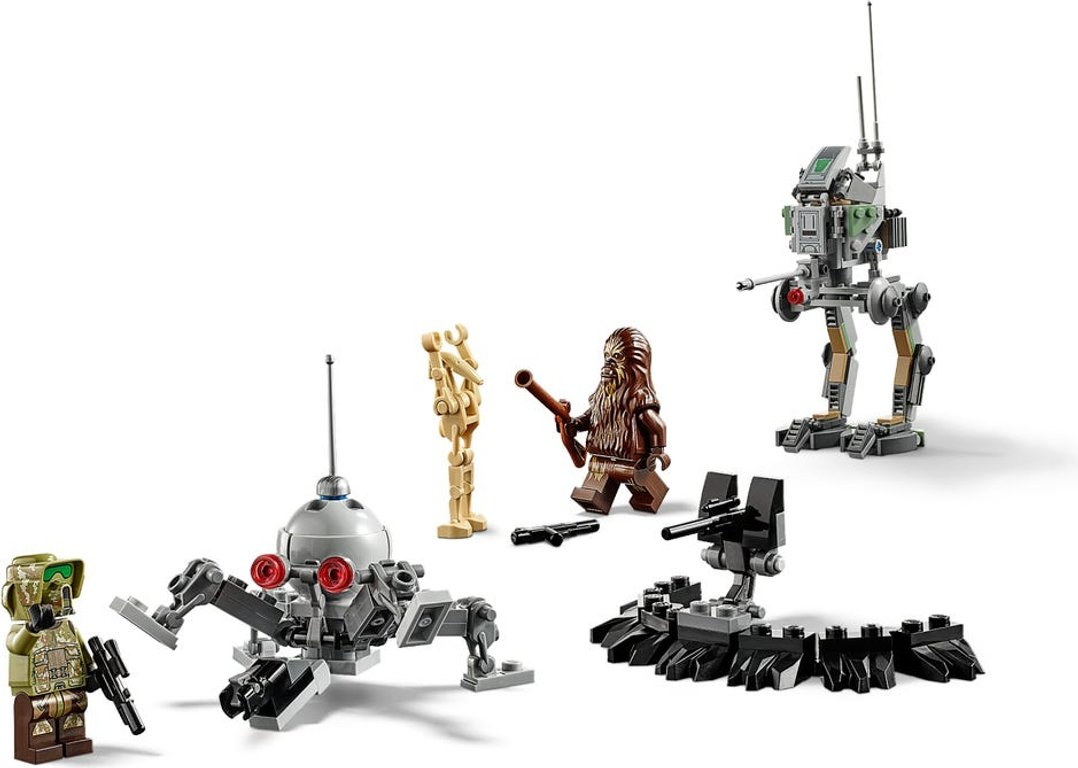 LEGO® Star Wars Clone Scout Walker™ – 20th Anniversary Edition components