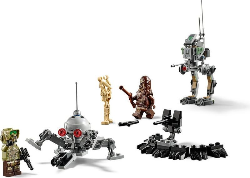Clone Scout Walker™ – 20th Anniversary Edition components