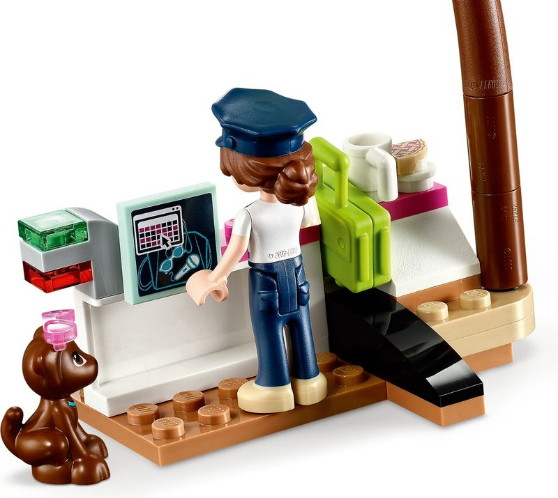 LEGO® Friends Heartlake City Airplane components
