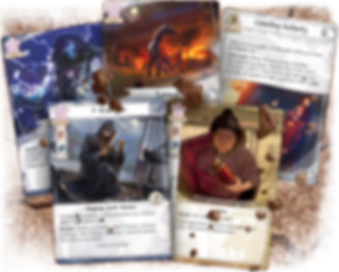 Legend of the Five Rings: The Card Game - Tainted Lands cards