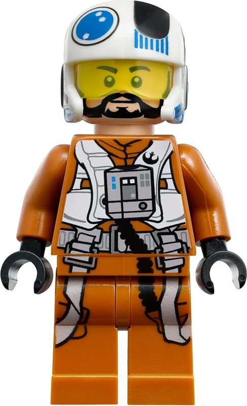 Resistance X-Wing Fighter™ minifigures
