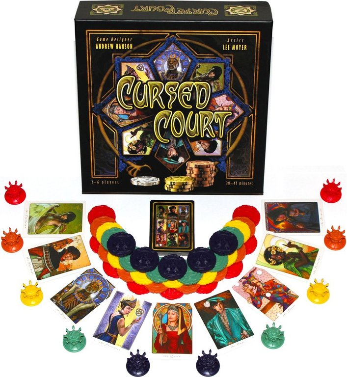 Cursed Court components