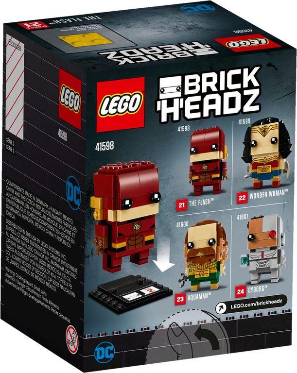 LEGO® BrickHeadz™ The Flash™ back of the box