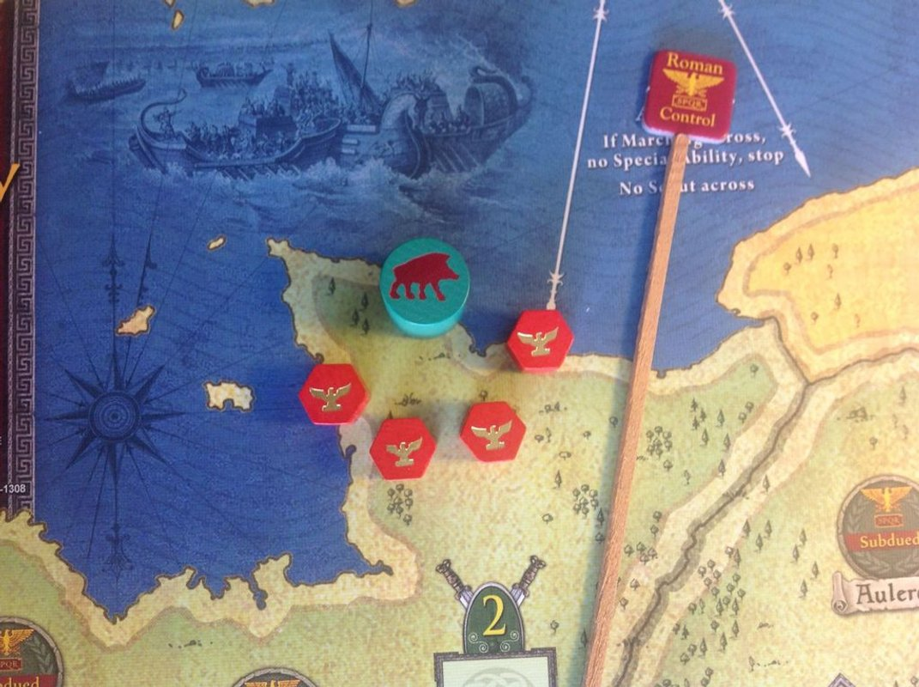 Falling Sky: The Gallic Revolt Against Caesar components