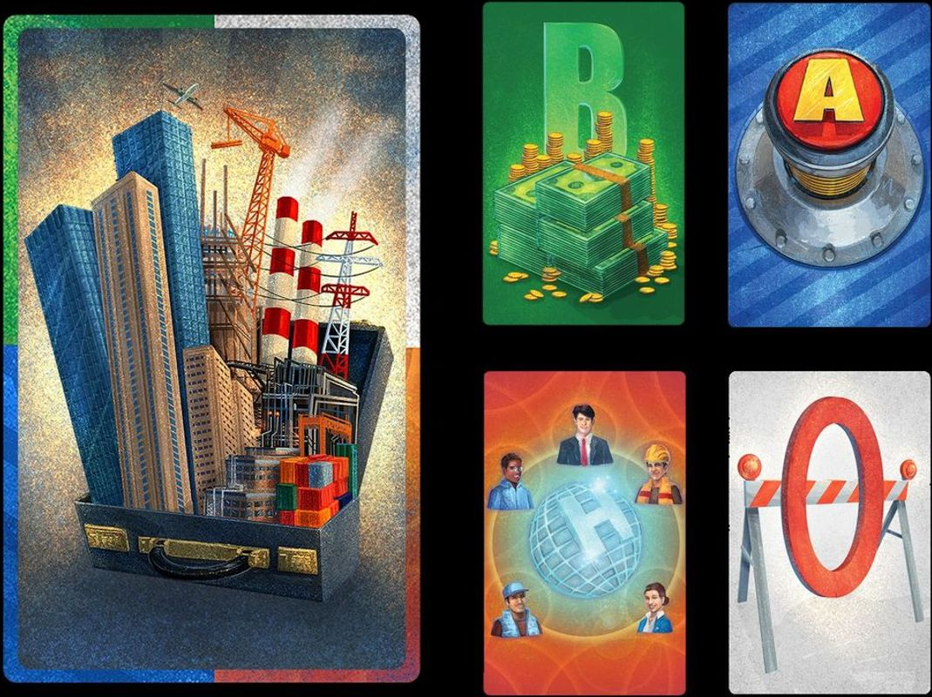 Briefcase cards