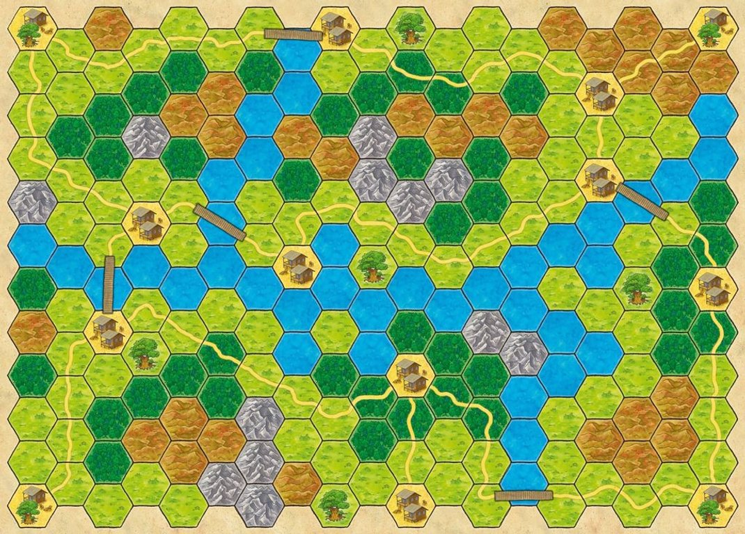 Fast Sloths game board