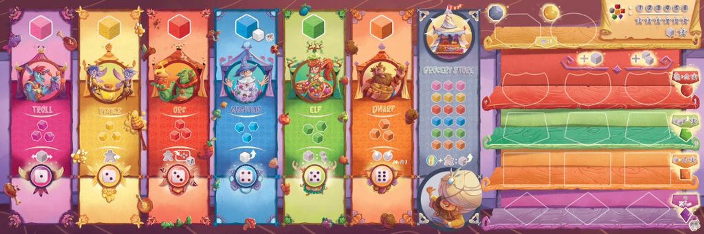 Festo! game board
