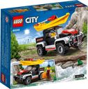 LEGO® City Kayak Adventure back of the box