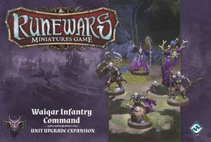 Runewars+Miniatures+Game%3A+Waiqar+Infantry+Command+-+Unit+Upgrade+Expansion