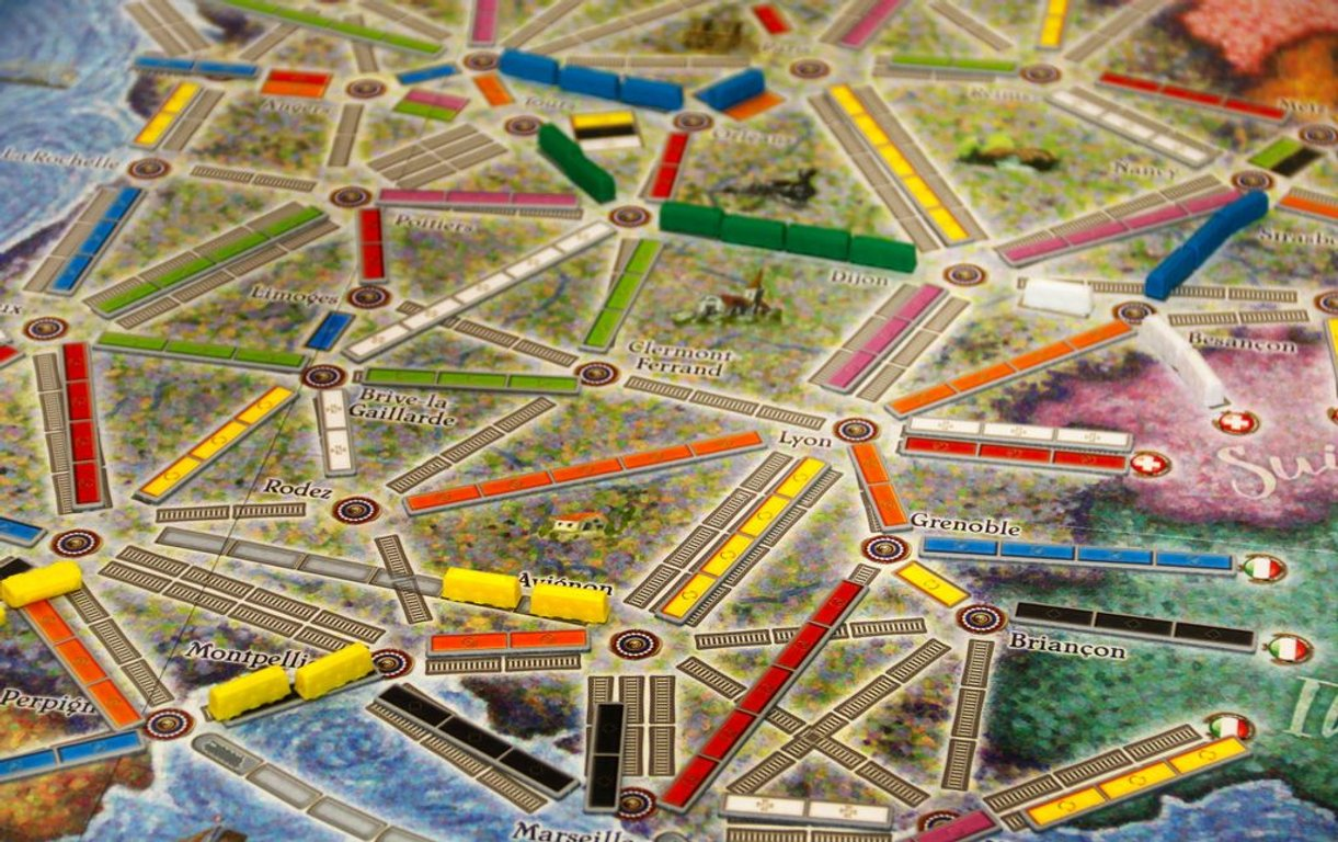 Ticket to Ride Map Collection: Volume 6 - France & Old West gameplay