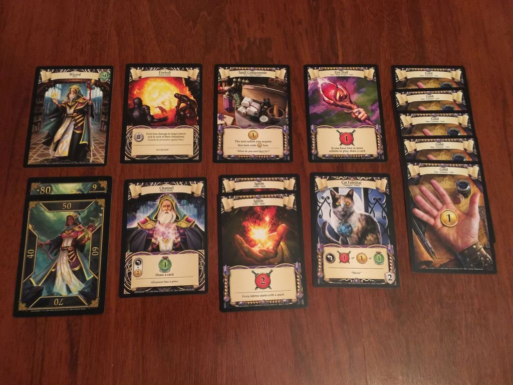 Hero Realms: Character Pack - Wizard cards
