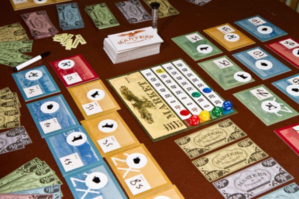 Panic on Wall Street! gameplay