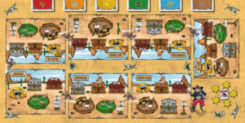 El Paso game board