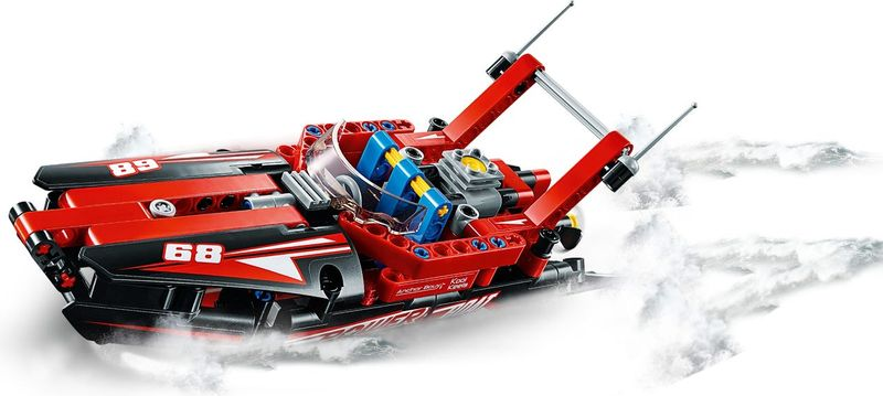 LEGO® Technic Power Boat gameplay