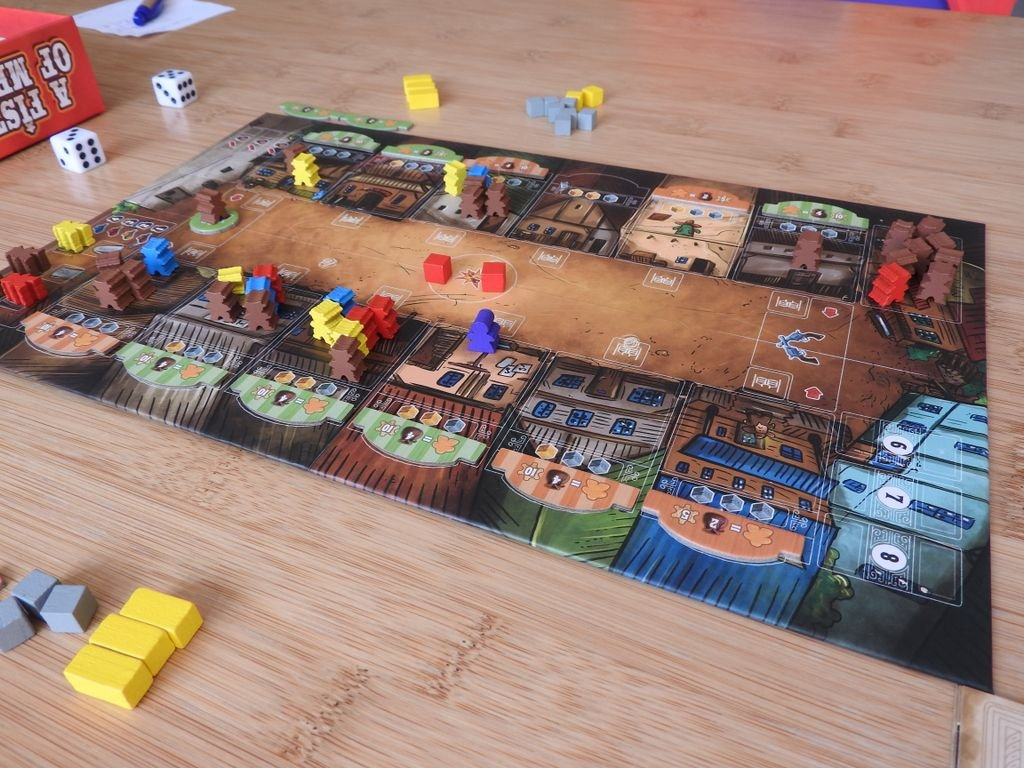 A Fistful of Meeples gameplay