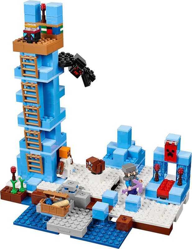 LEGO® Minecraft The Ice Spikes gameplay