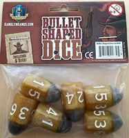 Tiny Epic Western Themed Bullet Dice