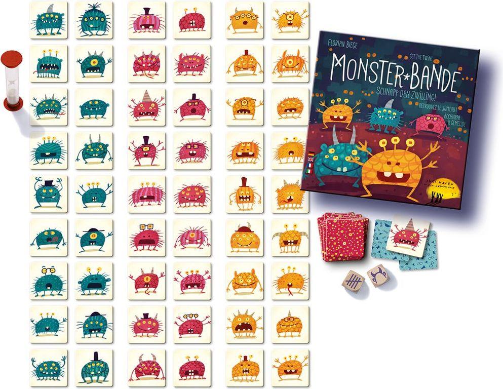 Monster-Bande components
