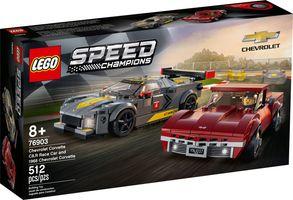 LEGO® Speed Champions Chevrolet Corvette C8.R Race Car and 1968 Chevrolet Corvette