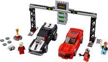 LEGO® Speed Champions Chevrolet Camaro dragracer components