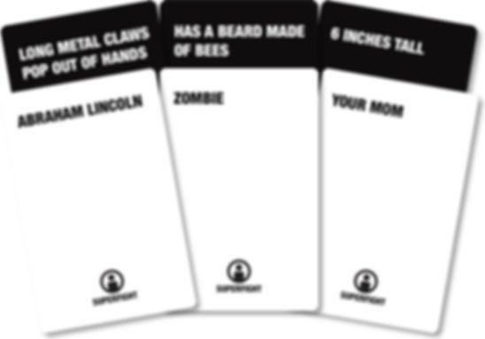 Superfight cards