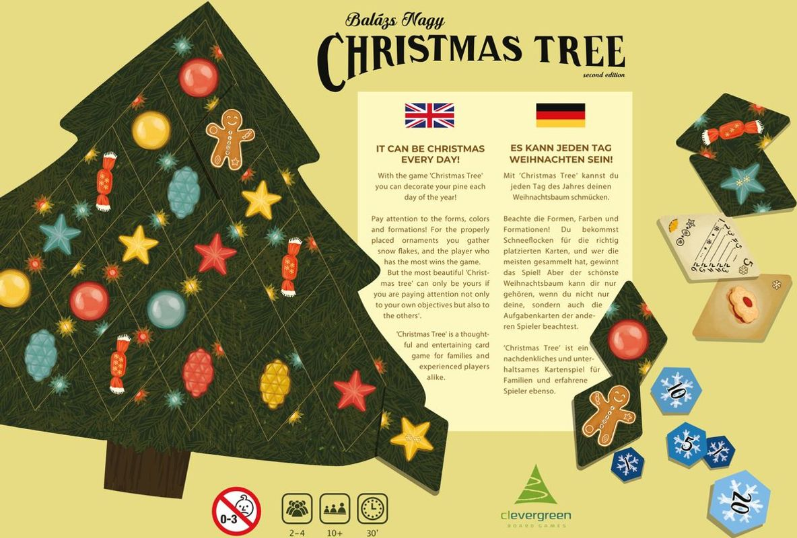 Christmas Tree back of the box