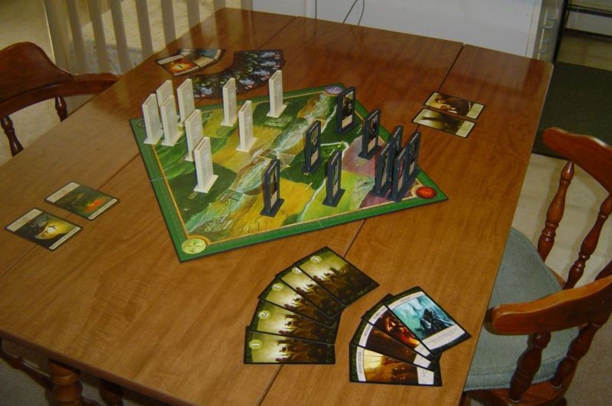 Lord of the Rings: The Confrontation gameplay