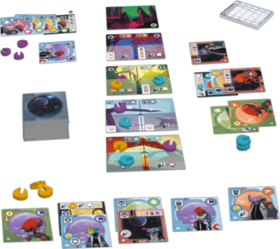 Wild Space components