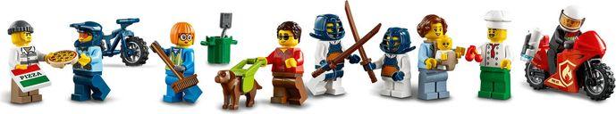 LEGO® City Town Center minifigures