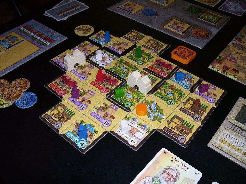 Alhambra: Big Box gameplay