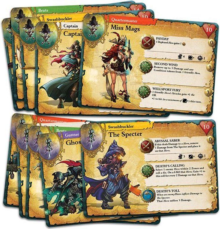 Rum & Bones cards