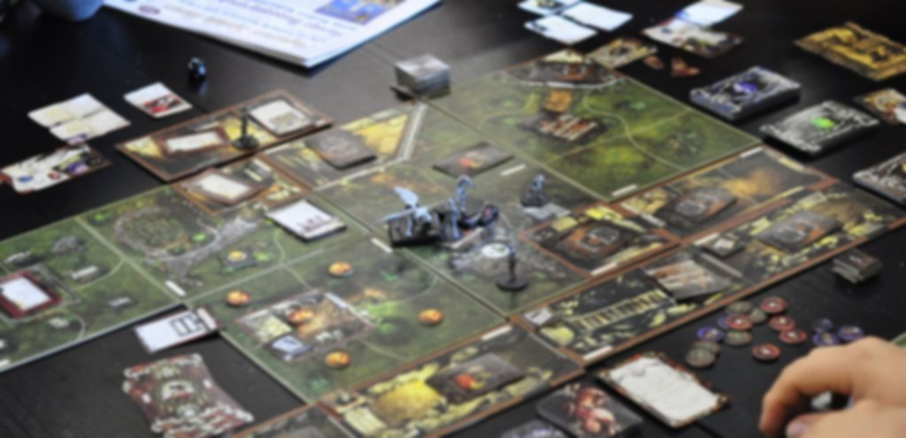Mansions of Madness gameplay