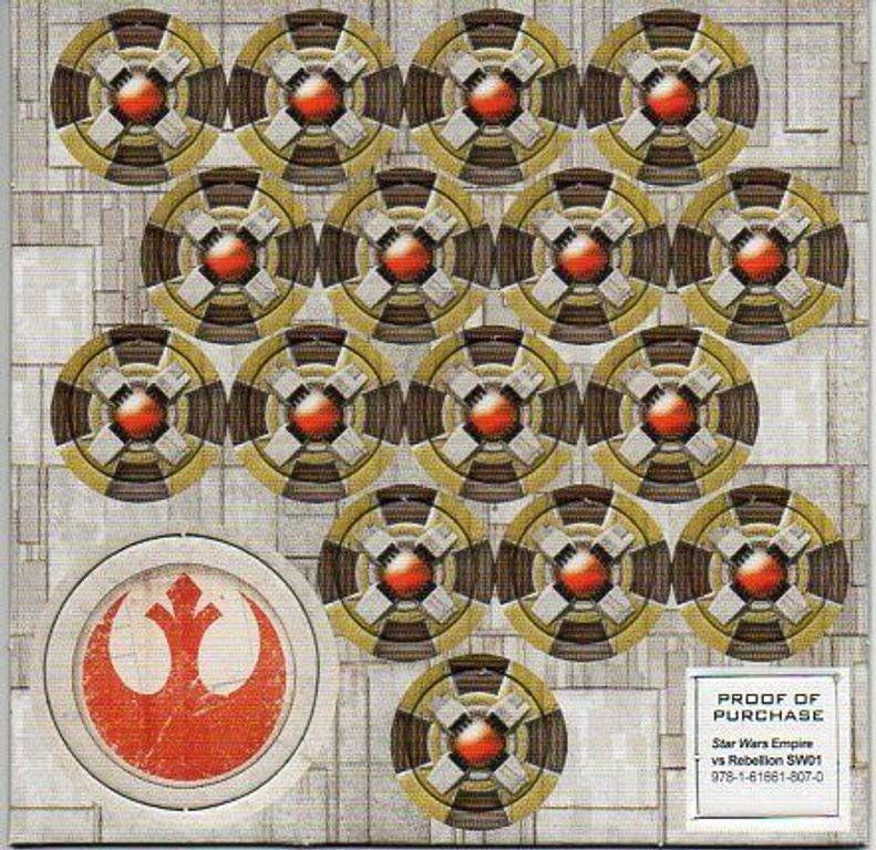 Star Wars: Empire vs. Rebellion components