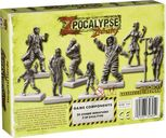 Zpocalypse Zmergency Hospital Horde back of the box