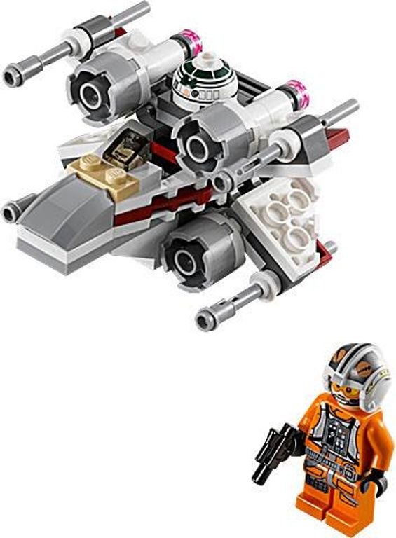 LEGO® Star Wars X-Wing Fighter components