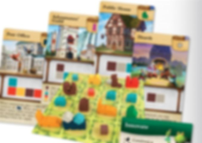 Tiny Towns: Villagers components