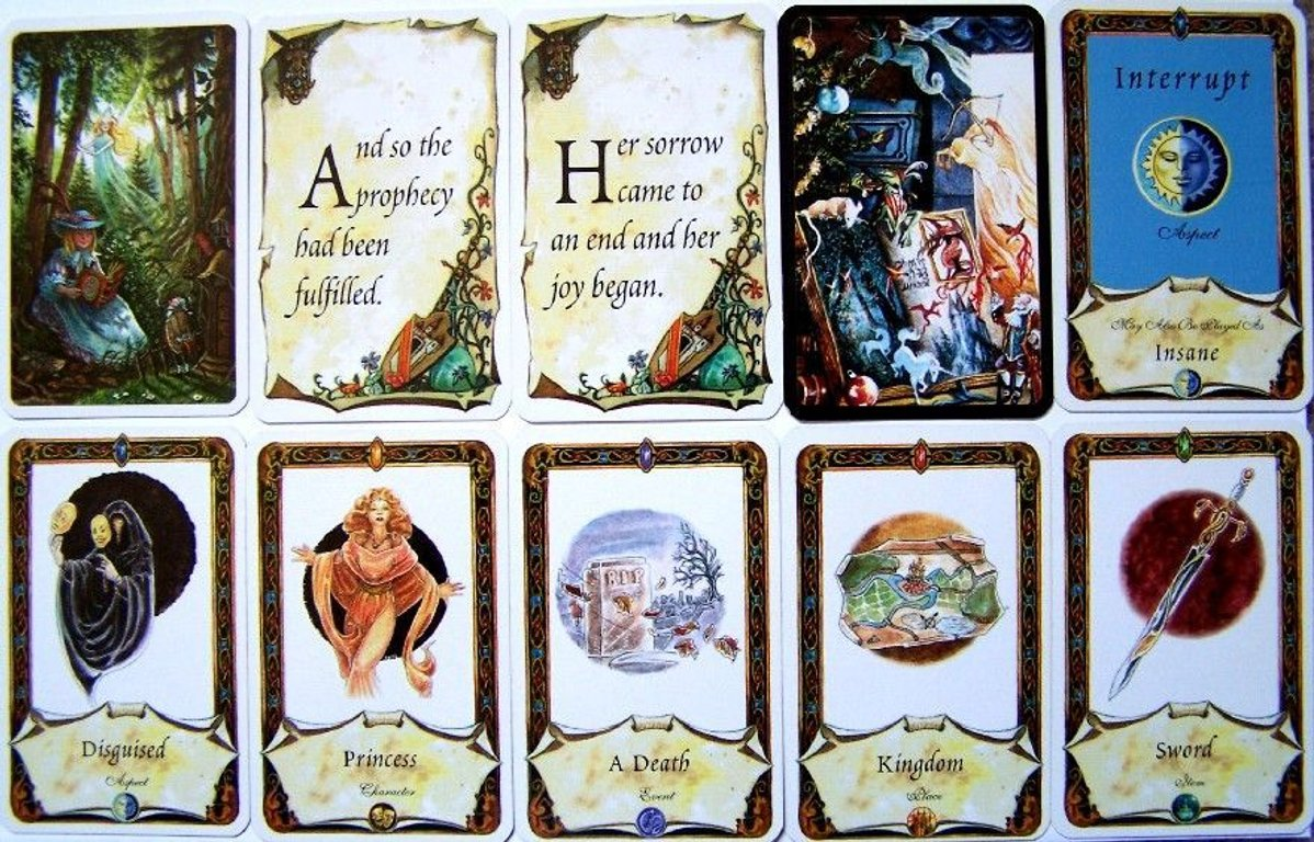 Once Upon a Time: The Storytelling Card Game cards