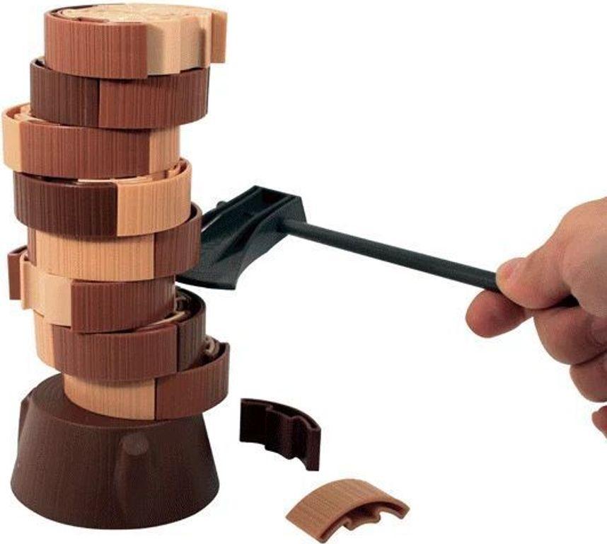 Click Clack Lumberjack components
